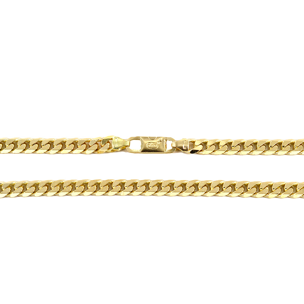 Catena da Uomo Groumette in oro giallo 18 kt - 50 cm 56 grammi
