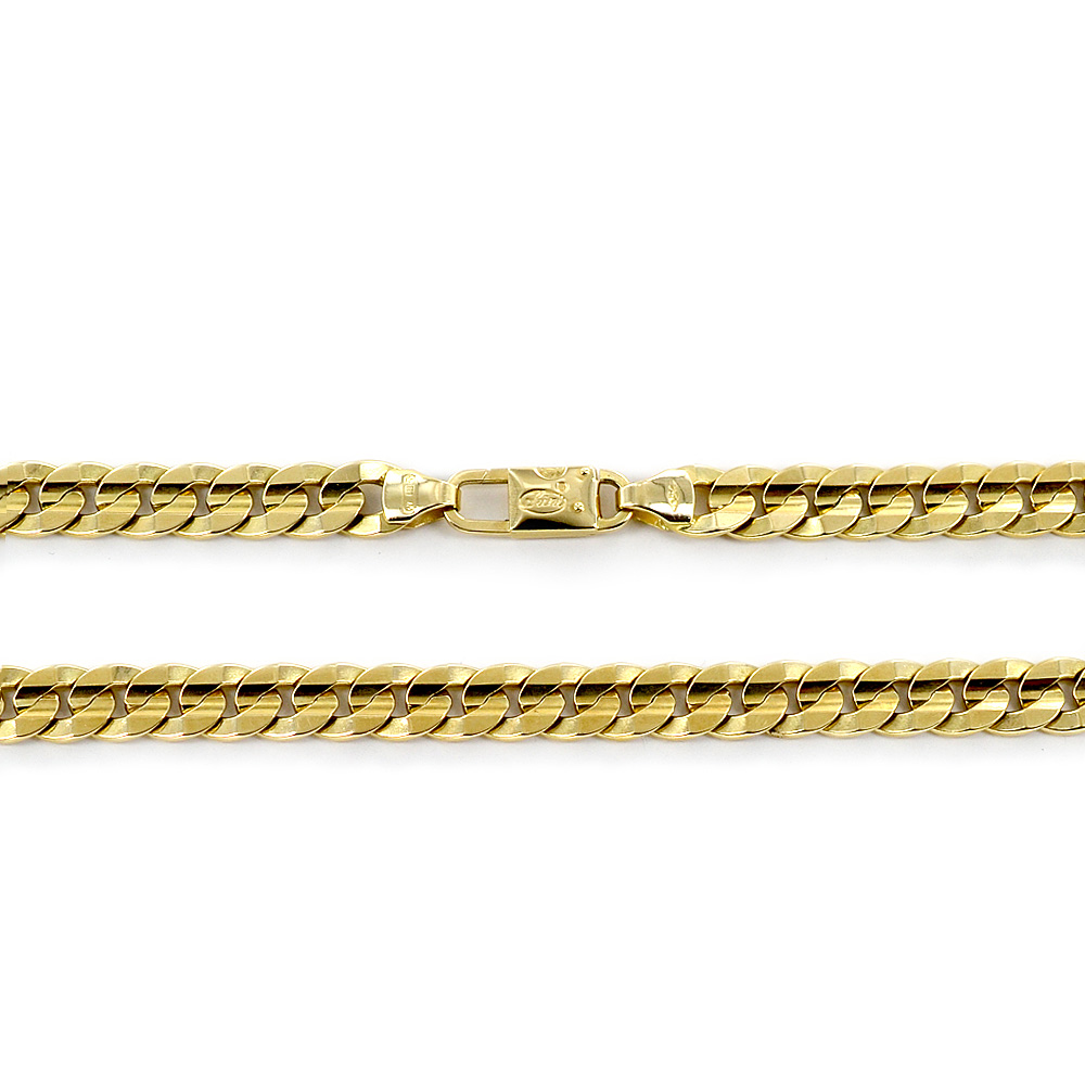 Catena da Uomo Groumette in oro giallo 18 kt - 50 cm 57 grammi