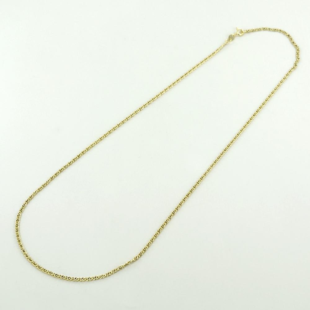Catena da Uomo occhio di pernice 50cm in oro giallo 18kt