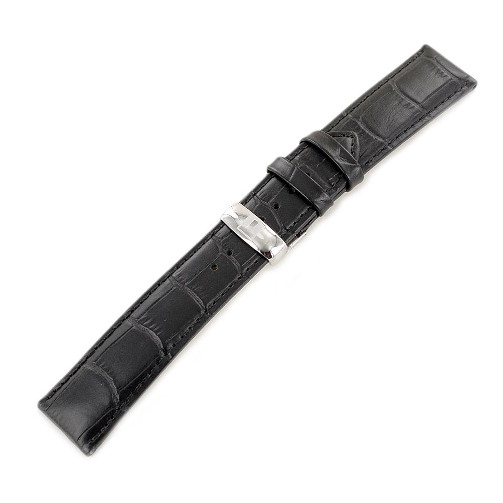 Cinturino di ricambio Tissot Tradition Nero 20 mm completo di chiusura