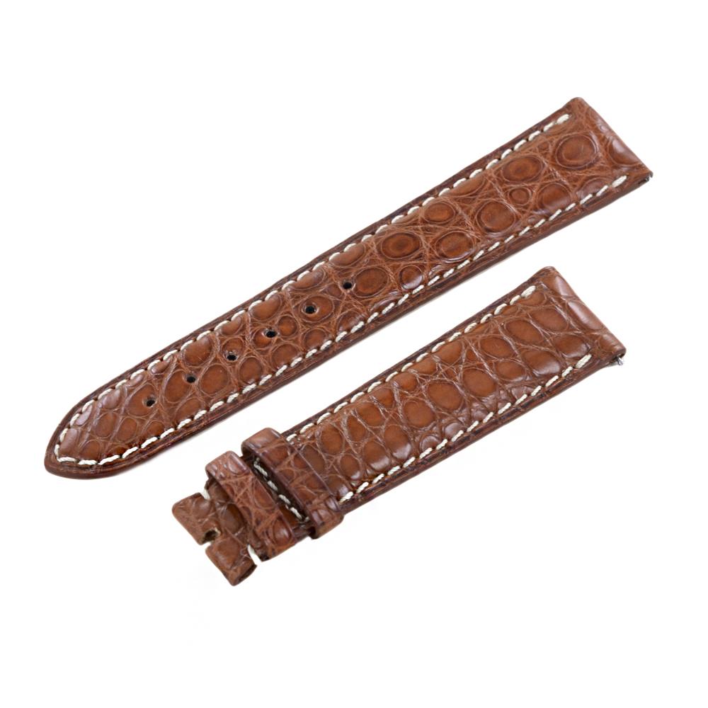 Cinturino Longines stampa Coccodrillo - Originale 21 mm