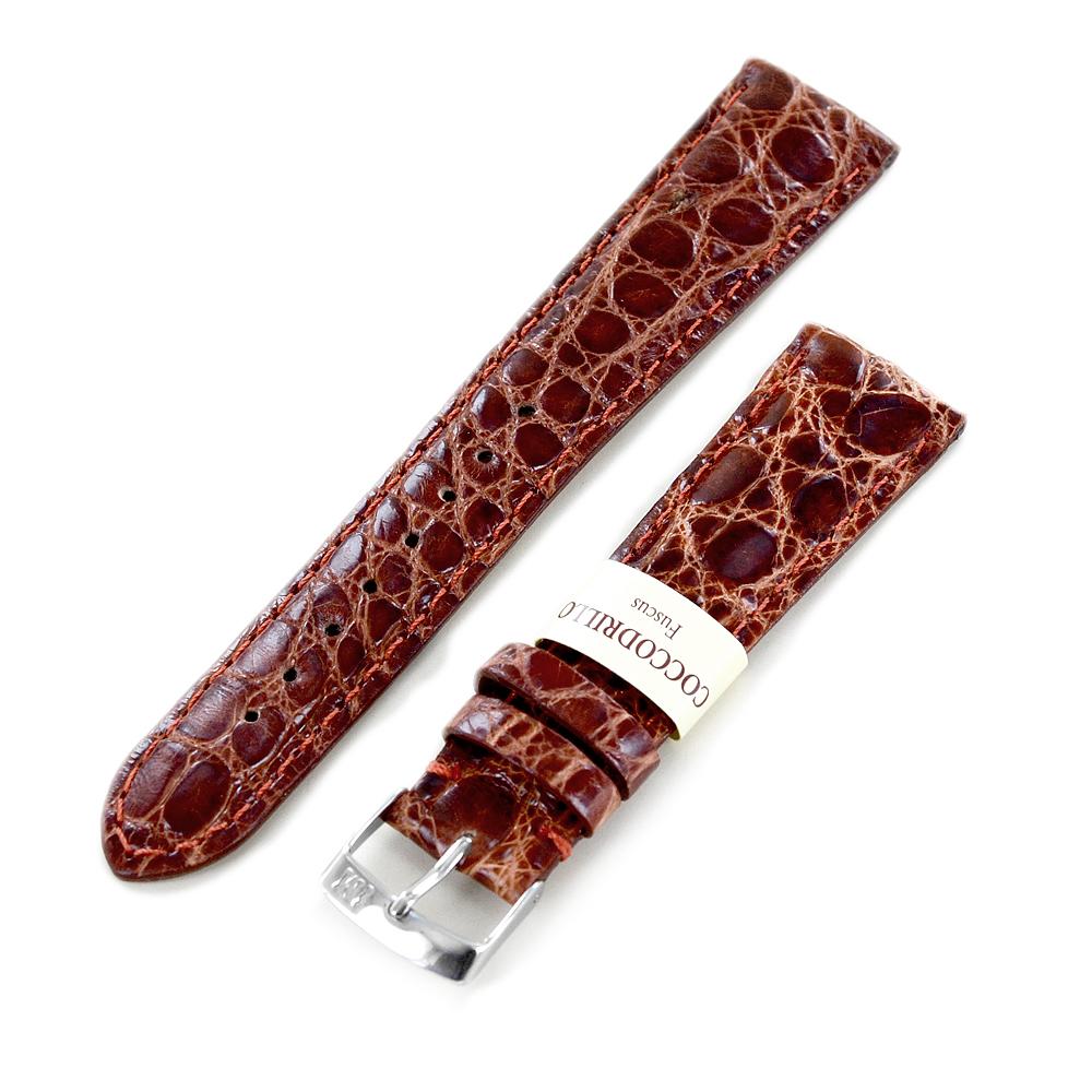 Cinturino Morellato in Vera pelle di coccodrillo del brasile ansa 20mm