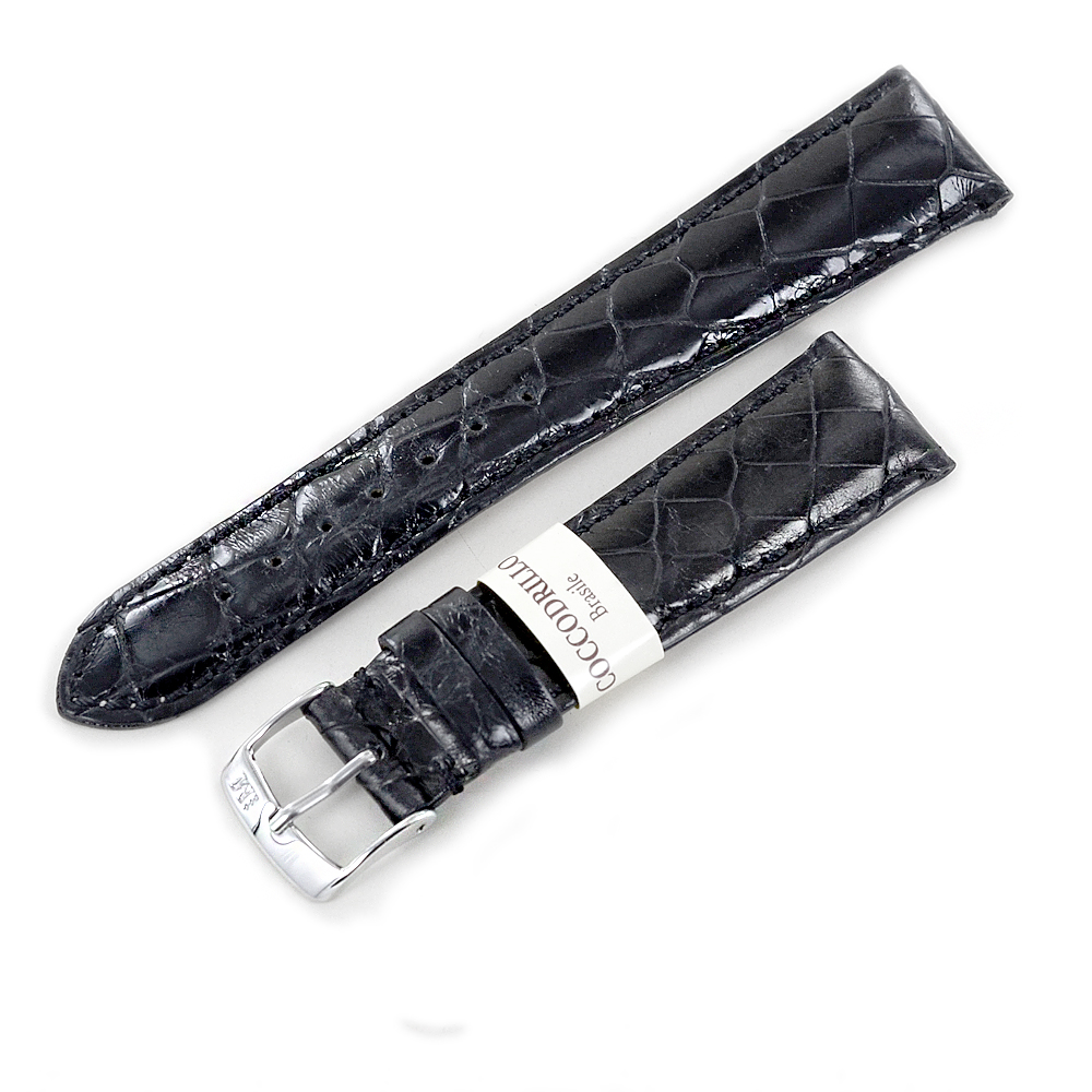 Cinturino Morellato in Vera pelle di coccodrillo del brasile ansa 22mm