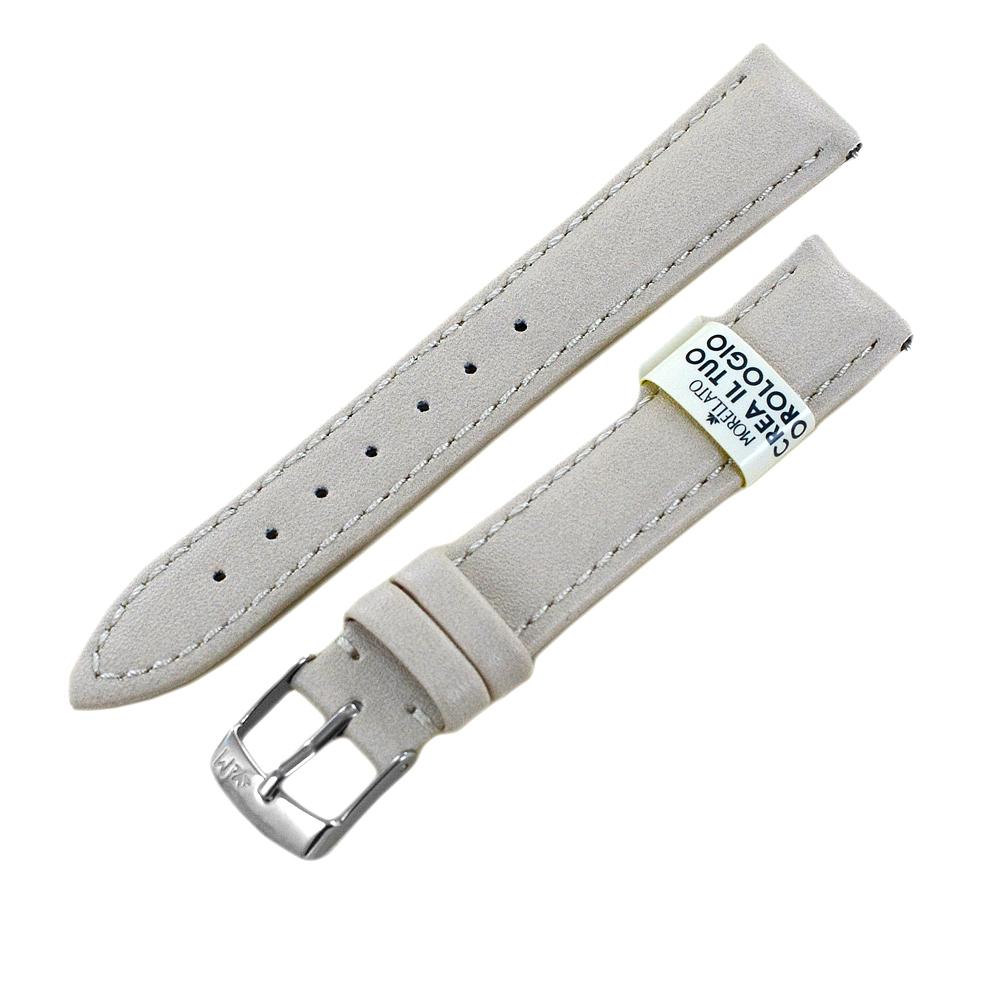 Cinturino ricambio orologio da donna Beige Eco Pelle 16 mm