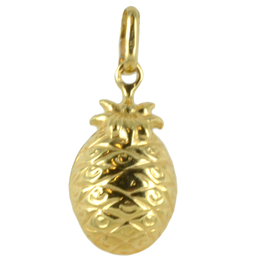 Ciondolo Ananas in oro