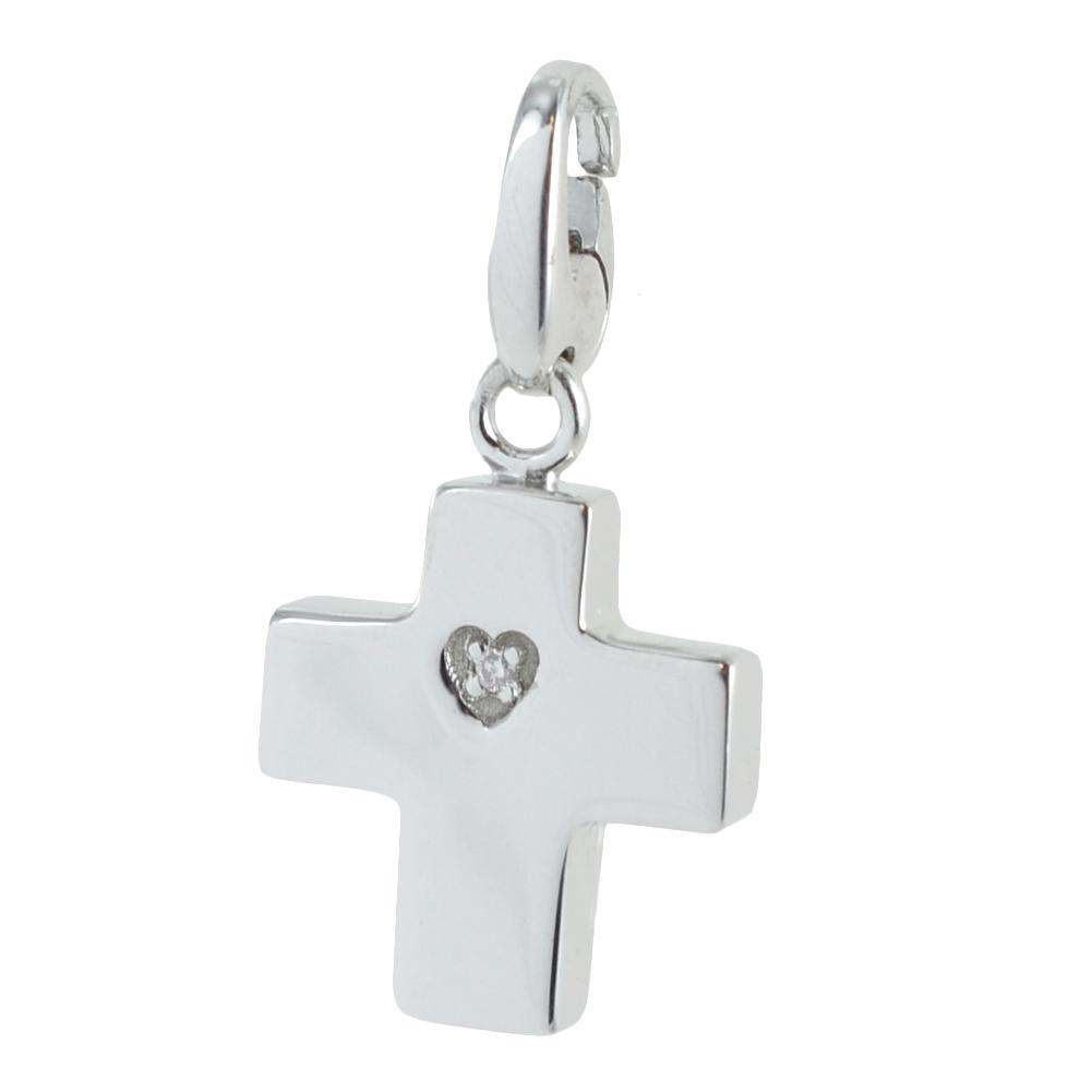 Ciondolo Croce componibile Salvini in argento silver collezione Charms of Love 20077085