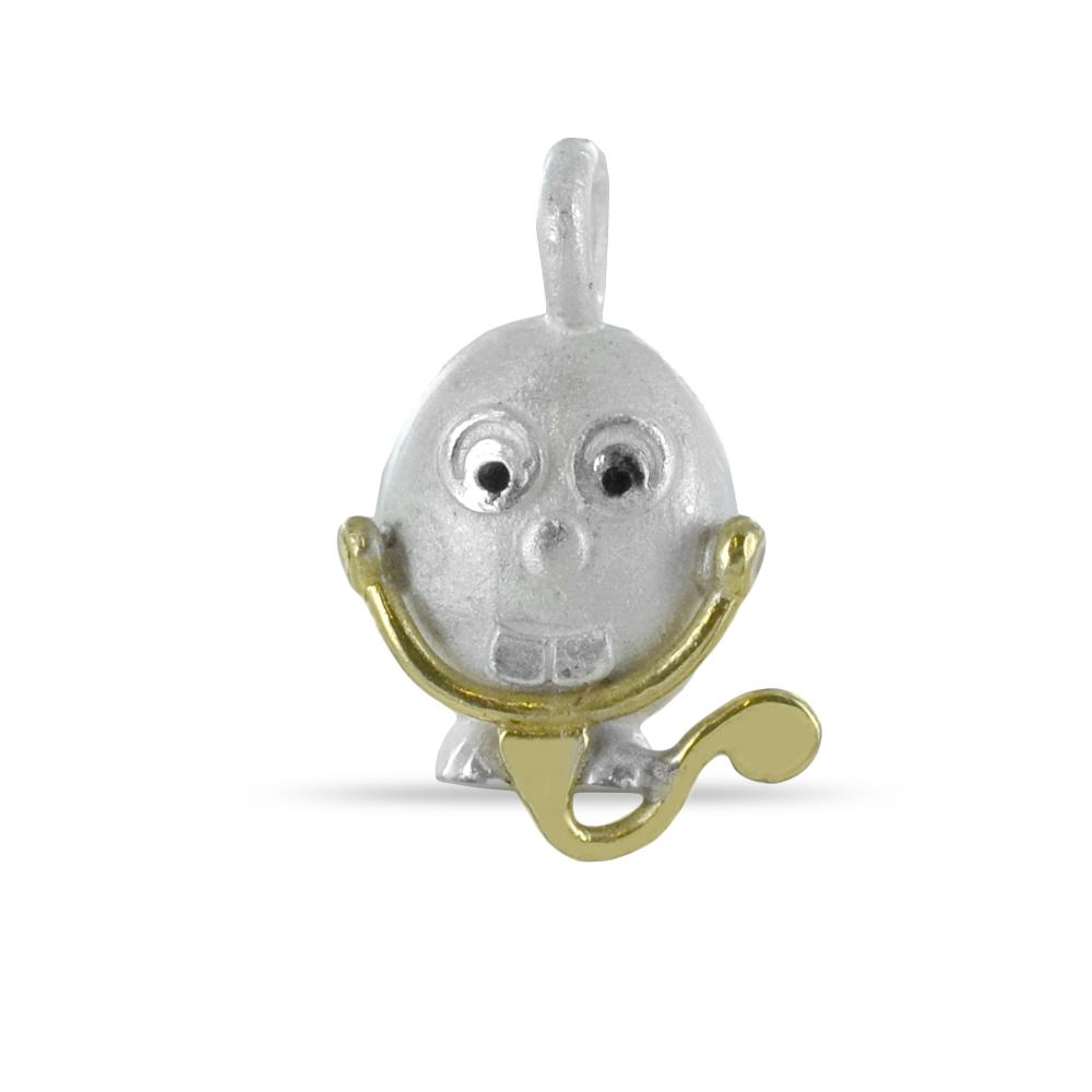 Ciondolo in argento Le Pulci - Pulce Dottore