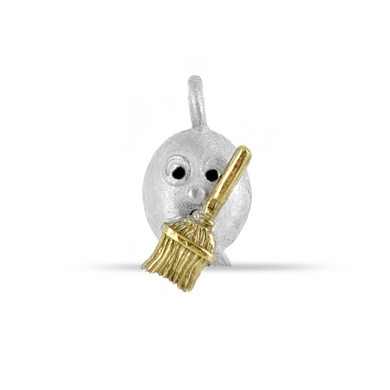 Ciondolo in argento Le Pulci - Pulce SCACCIAGUAI