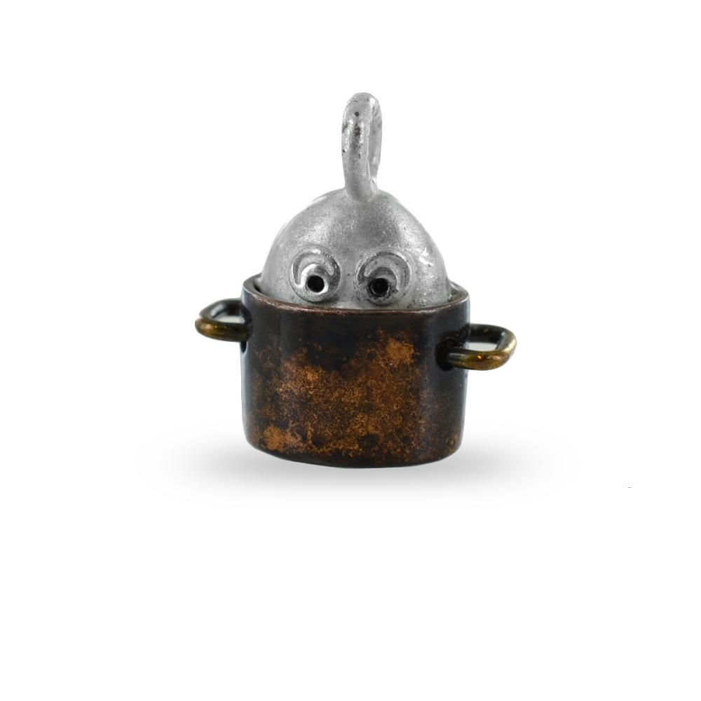 Ciondolo in argento Le Pulci - Pulce Timidona