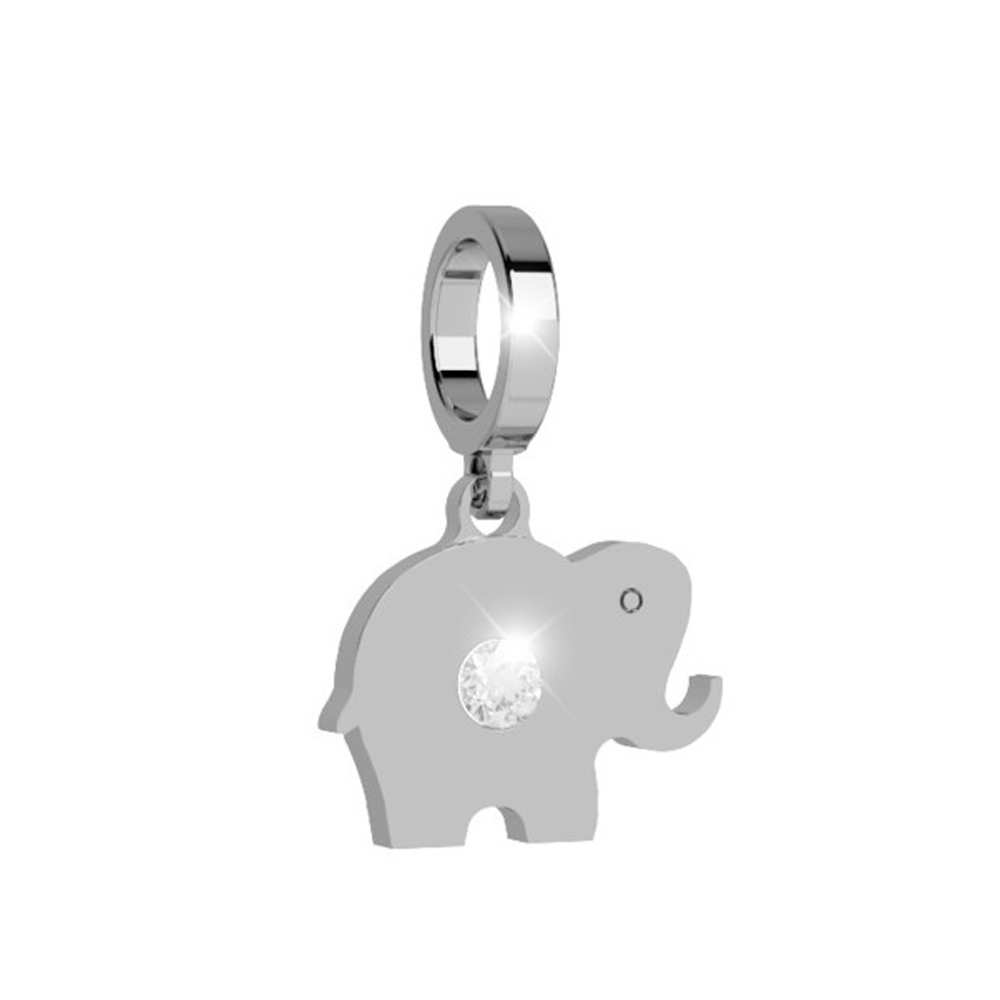 Ciondolo REBECCA donna silver My World Elefantino
