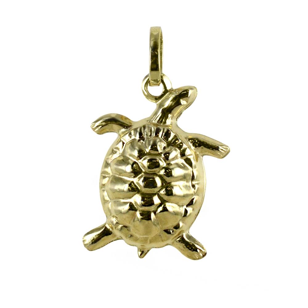 Ciondolo Tartaruga in oro giallo