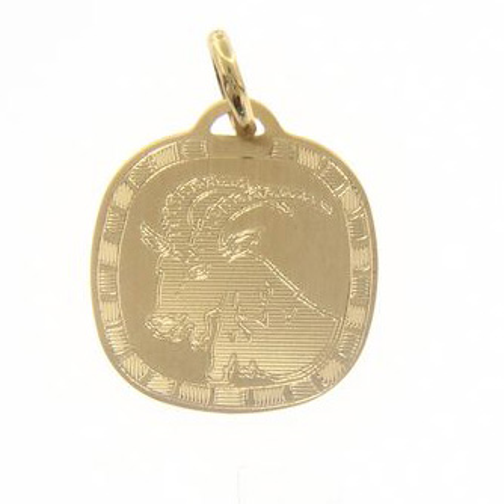 Ciondolo Zodiaco in oro giallo - SEGNO CAPRICORNO