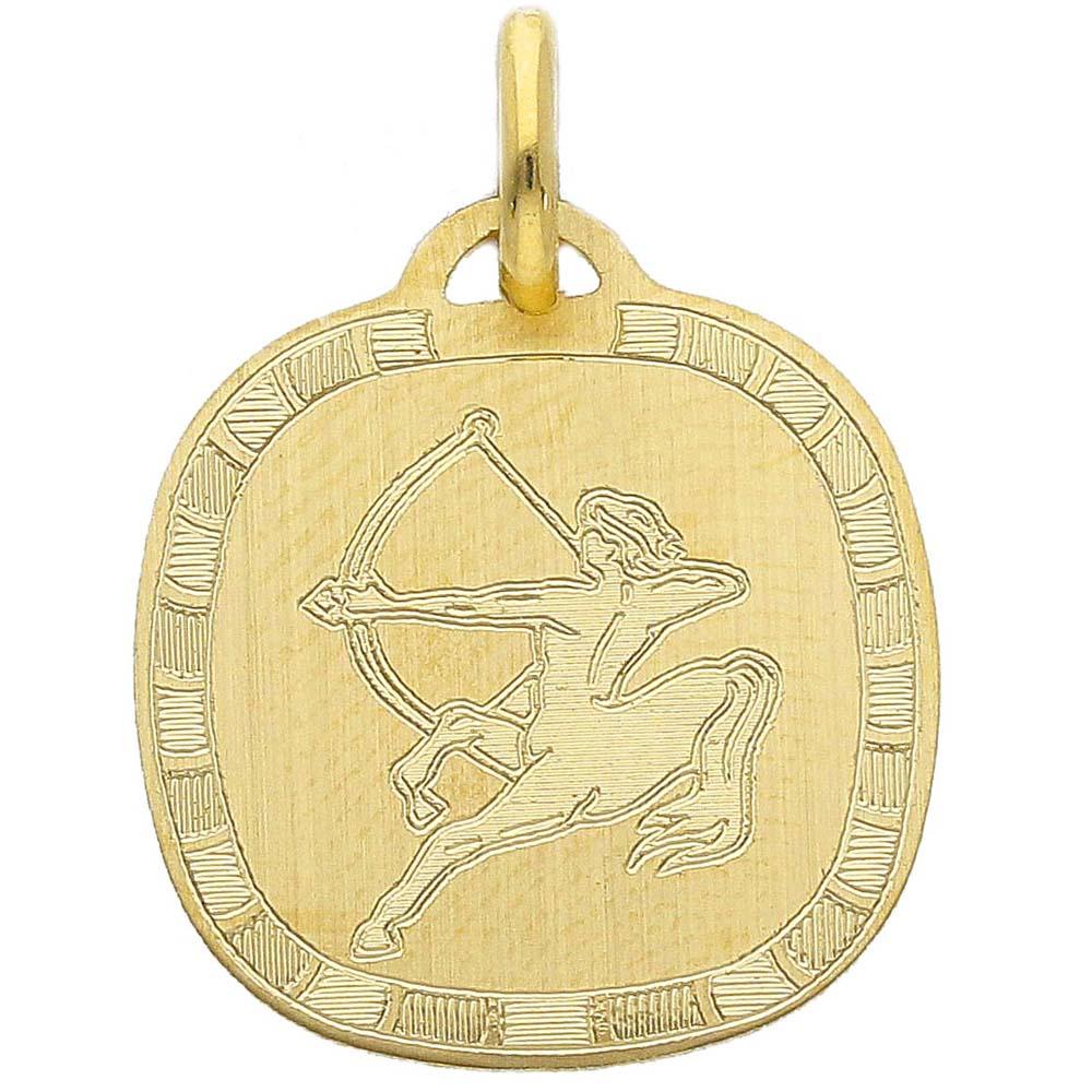 Ciondolo Zodiaco in oro giallo - SEGNO SAGITTARIO