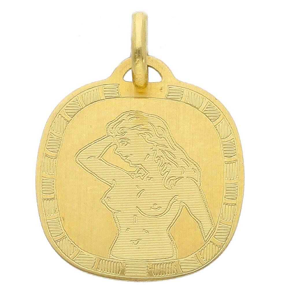 Ciondolo Zodiaco in oro giallo - SEGNO VERGINE
