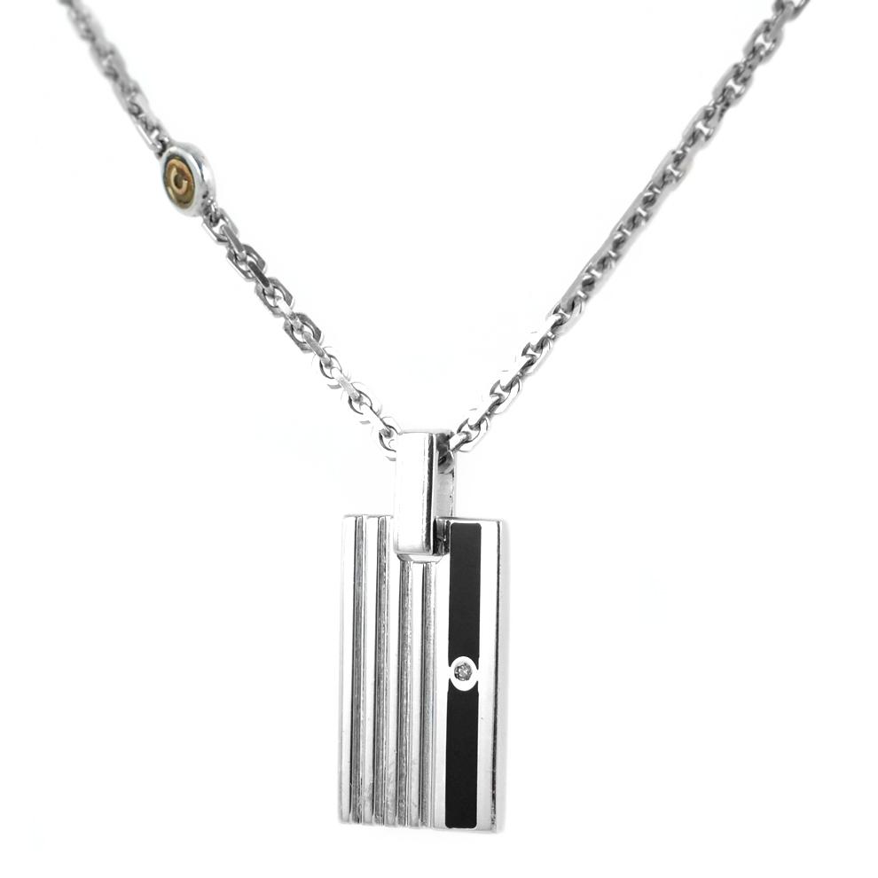 Collana Comete Gioielli uomo RAIL LINE in argento UGL318