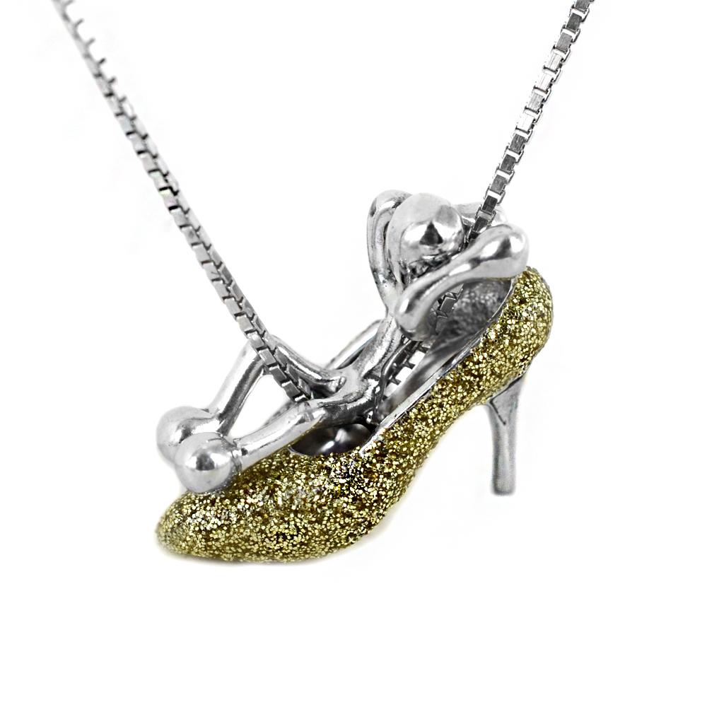 Collana con ciondolo Pensieri Felici in argento GS1007G NEW COLLECTION