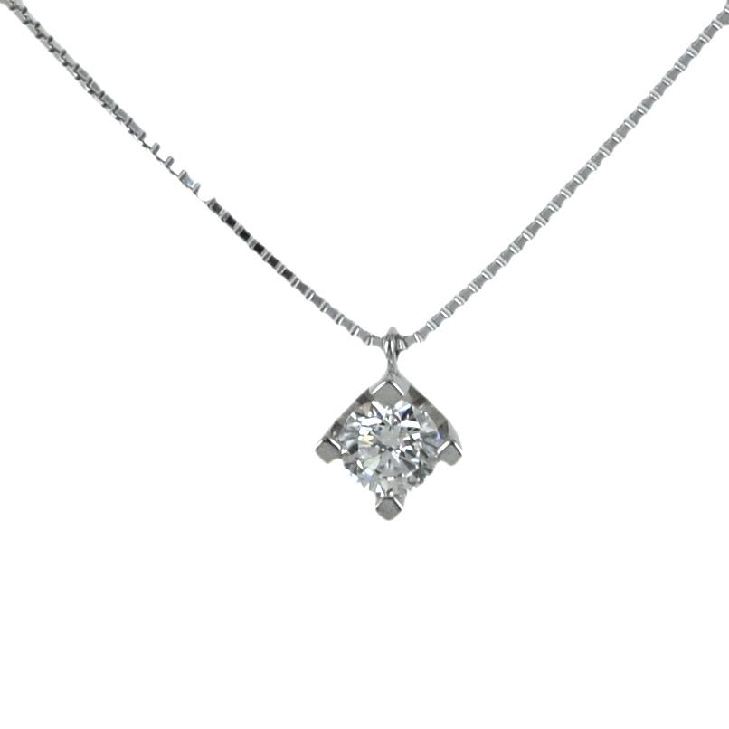 Collana con ciondolo punto luce diamante 0.25 G VS