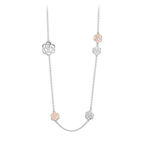 Collana donna 2Jewels BEAUTIFUL GARDEN in acciaio e cristalli 251520