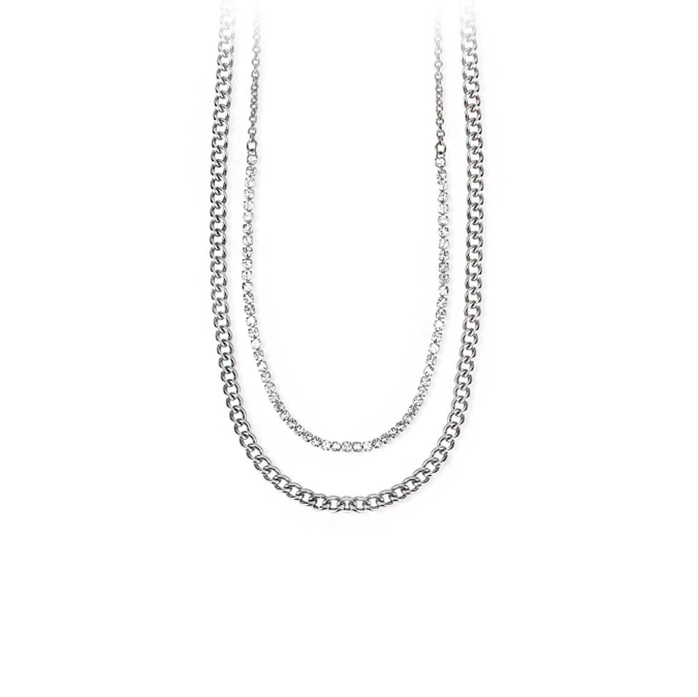 Collana donna 2Jewels in acciaio collezione Mix & match 251694