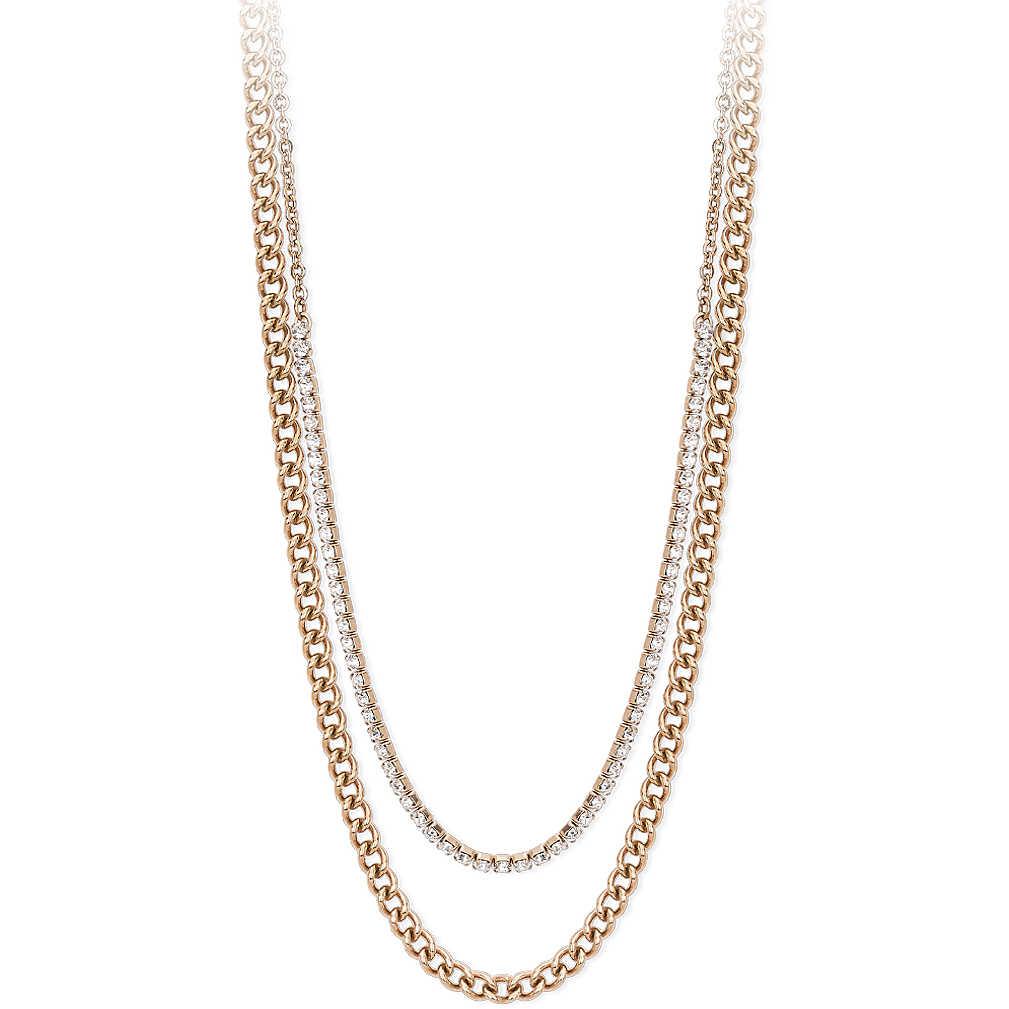 Collana donna 2Jewels in acciaio collezione Mix & match rosa 251708
