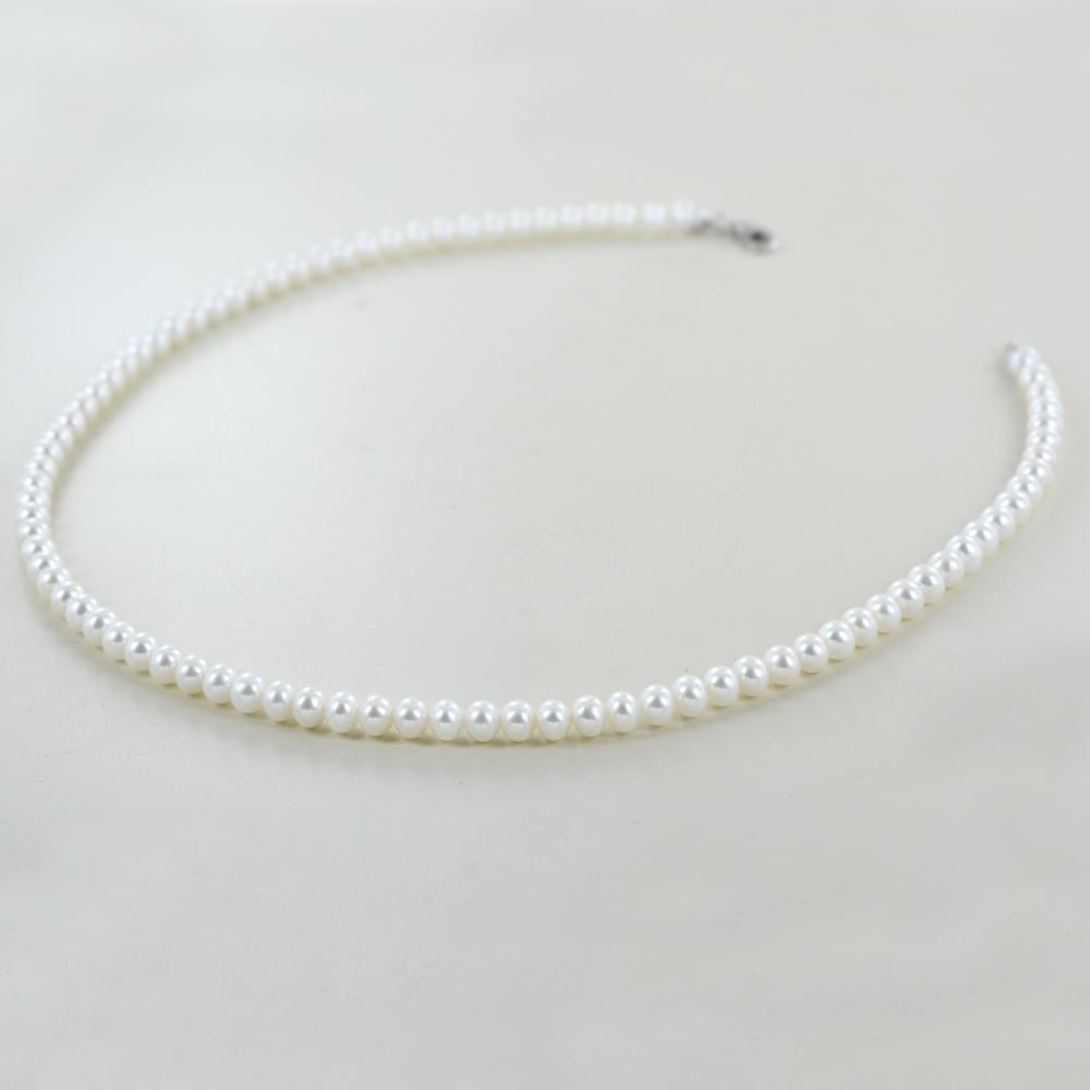 Collana filo di perle Freshwater 5.50-6.00 mm semiround