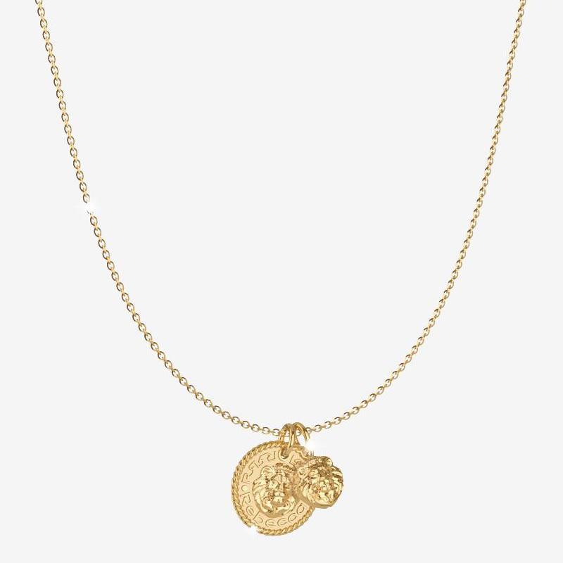 Collana Rebecca Donna The Lion Queen in Argento Gold