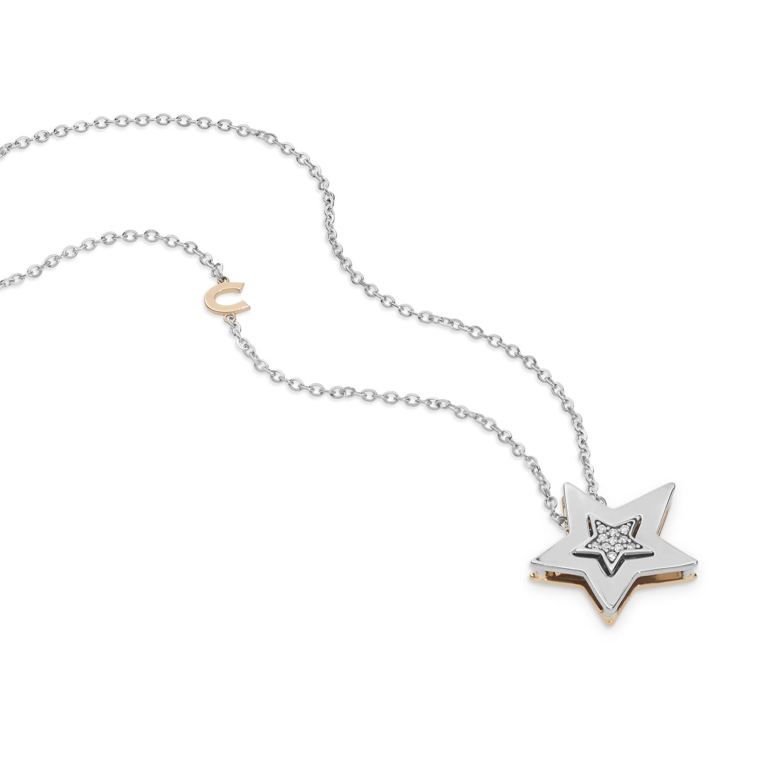 Collana Stella Comete Gioielli con diamanti GLB 1447