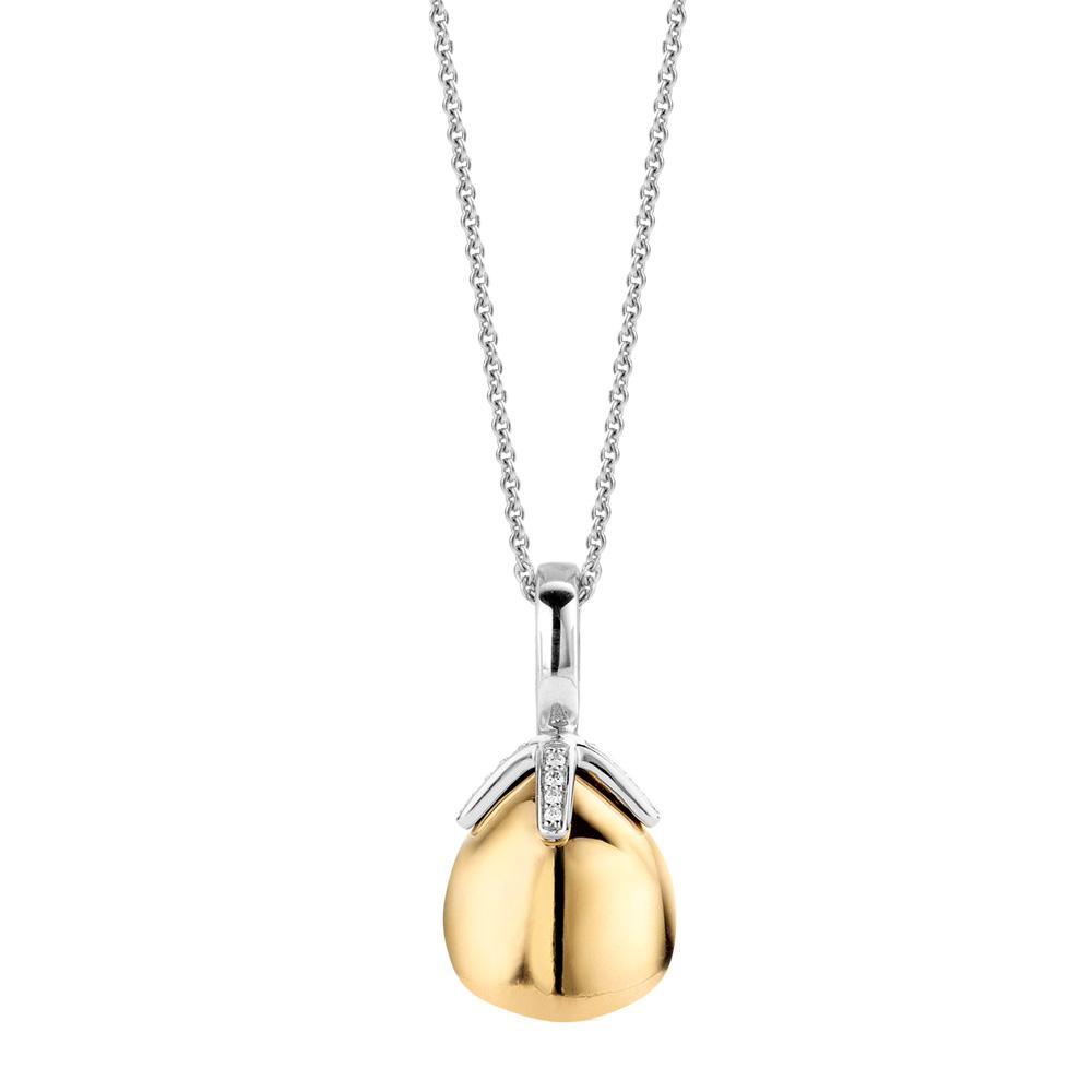 Collana Ti Sento Milano Donna cristallo color oro in argento 6765SY