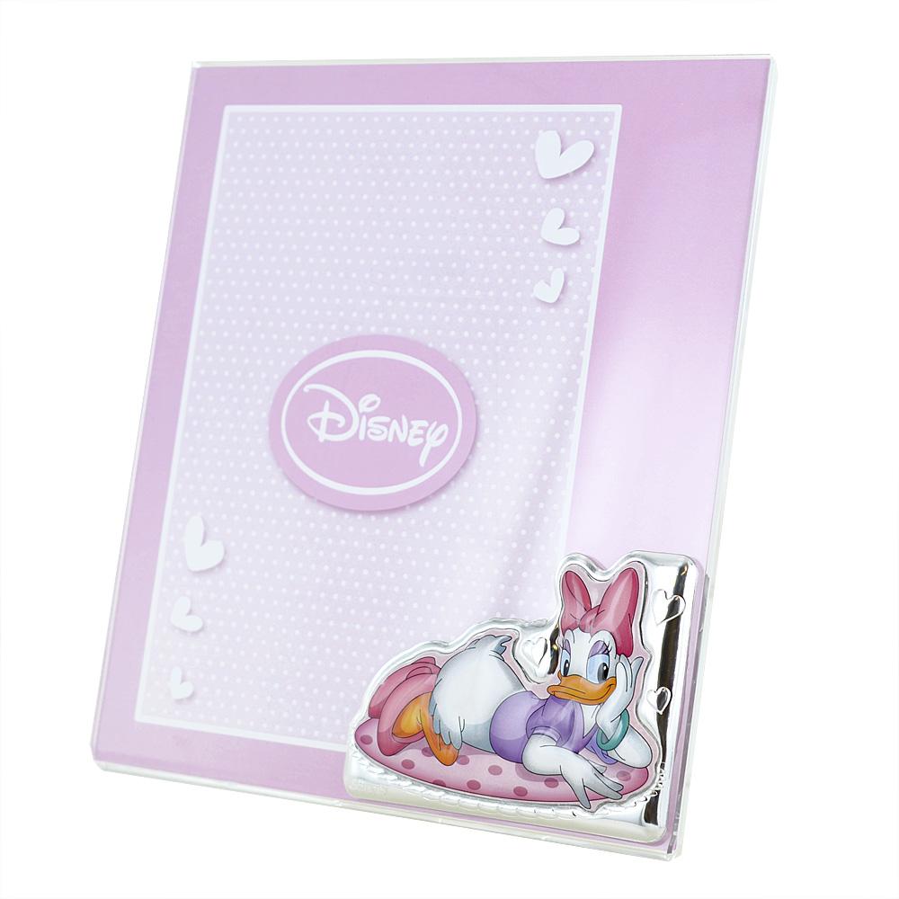 Cornice da bambina a giorno Daisy Duck Paperina 15x20 cm plexiglass
