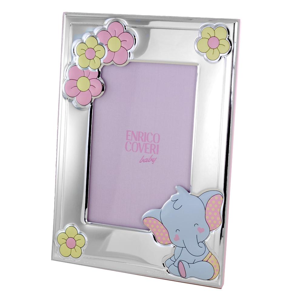 Cornice da bambina con Elefantino 9 x 13 cm cornice piccola