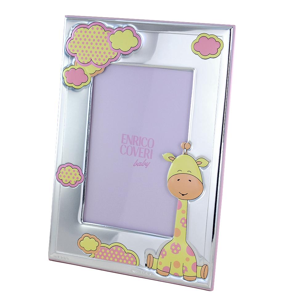 Cornice da bambina con Giraffa 9 x 13 cm cornice piccola