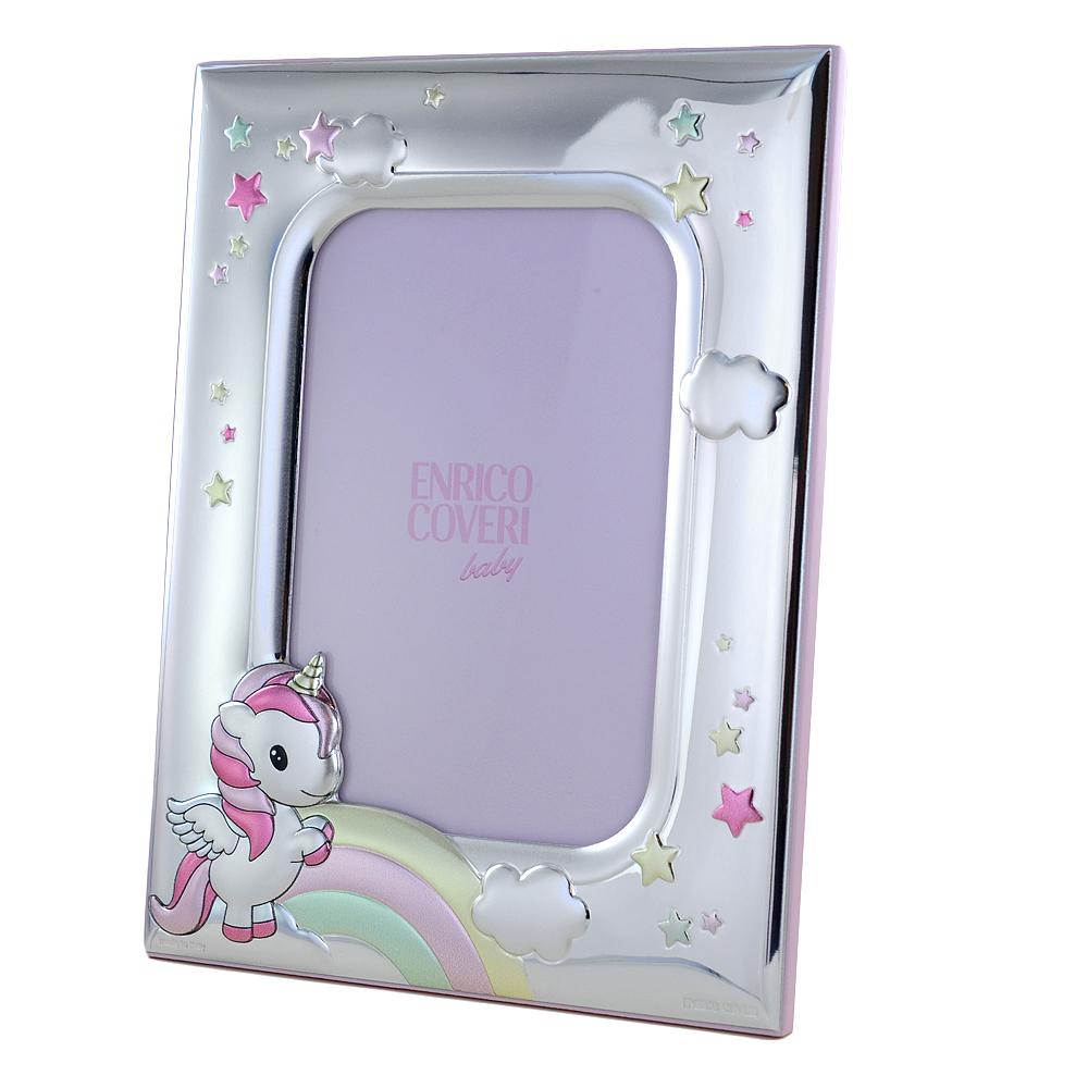 Cornice da bambina con Unicorno 9 x 13 cm cornice piccola