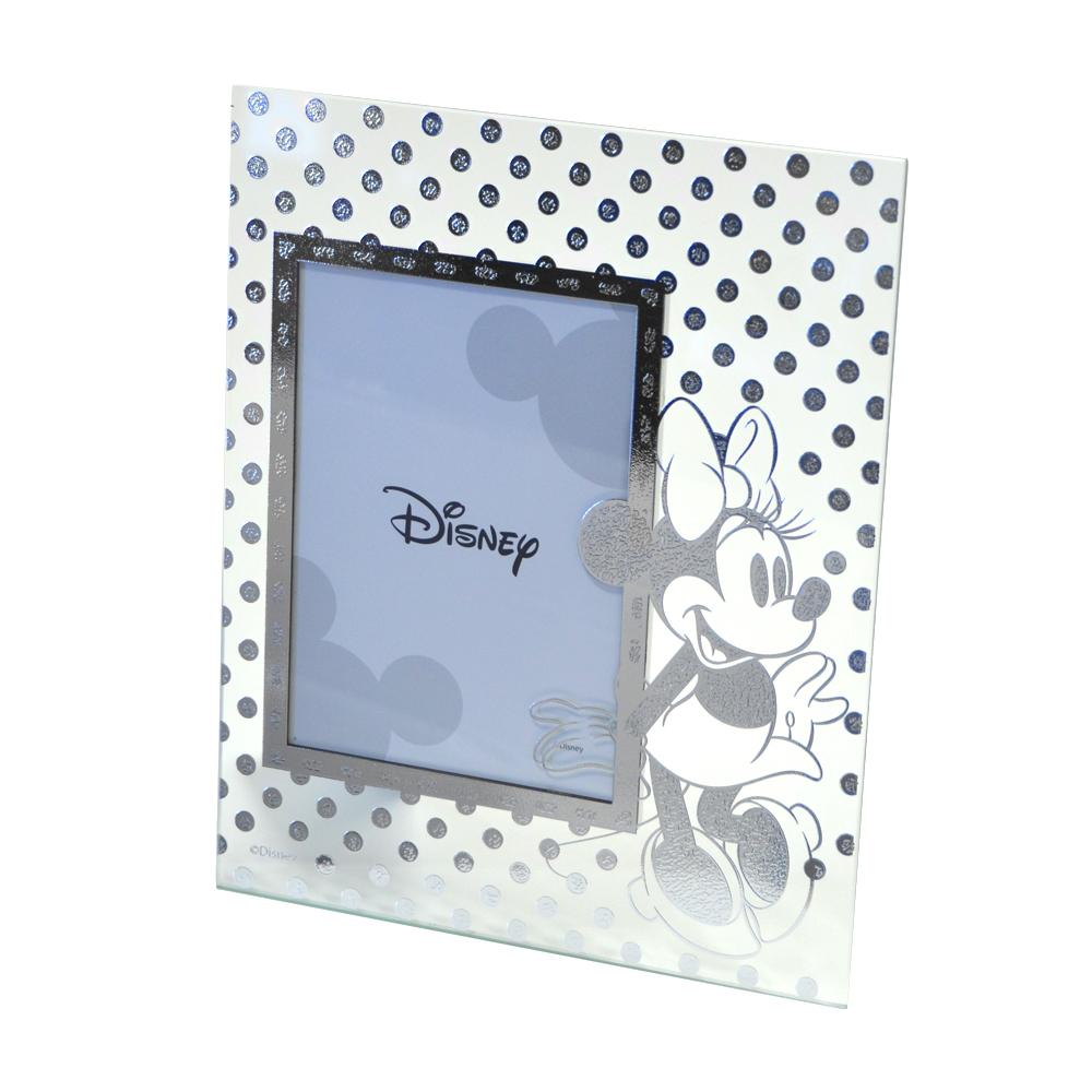 Cornice da bambina in vetro Minnie Mouse