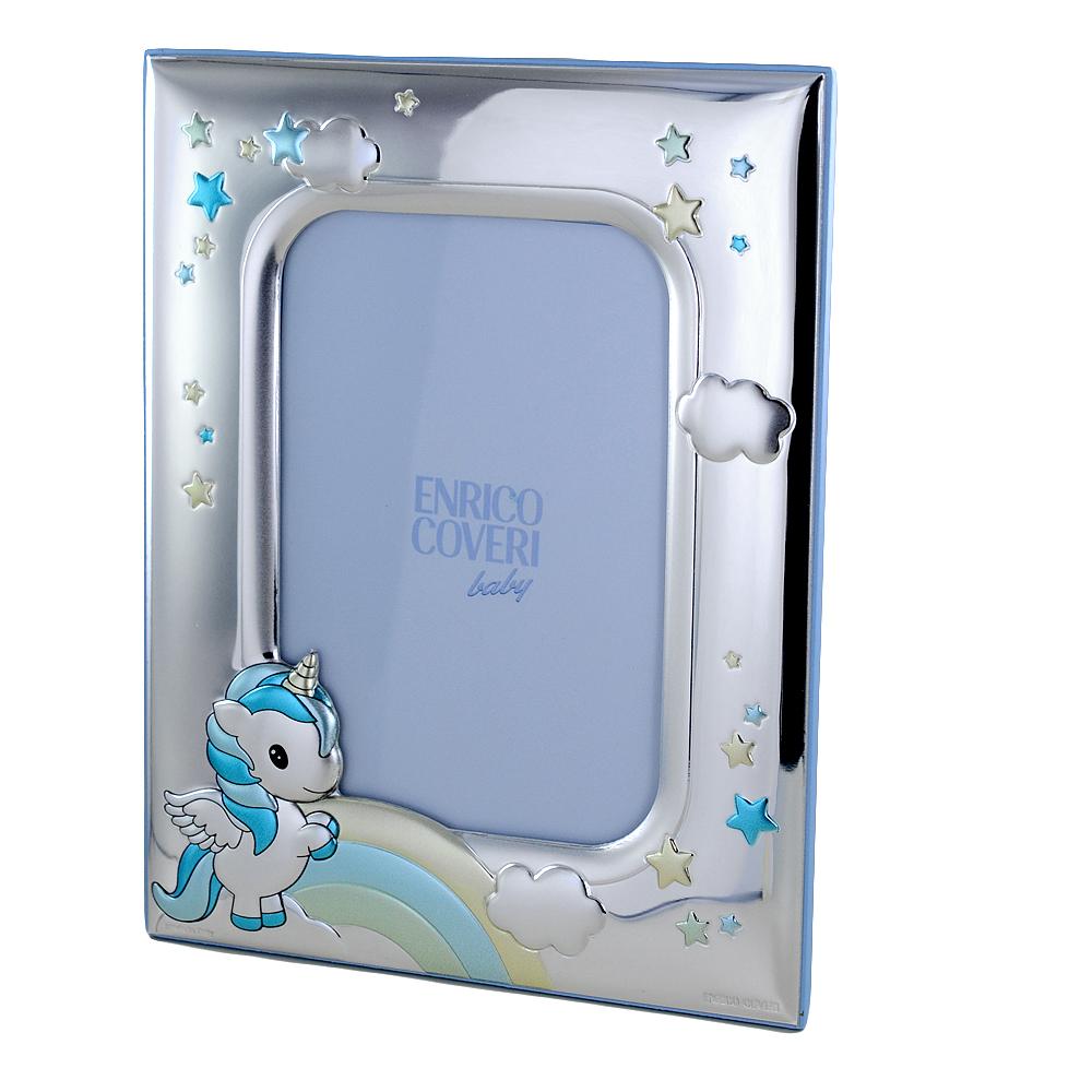 Cornice da bambino con Unicorno 9 x 13 cm cornice piccola