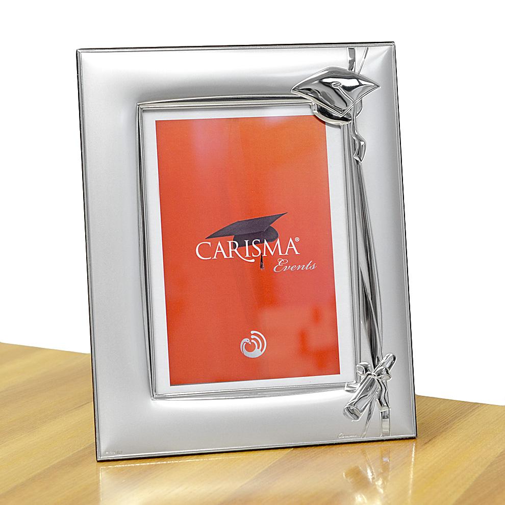 Cornice in Argento LAUREA 13X18 cm - argento satinato e lucido