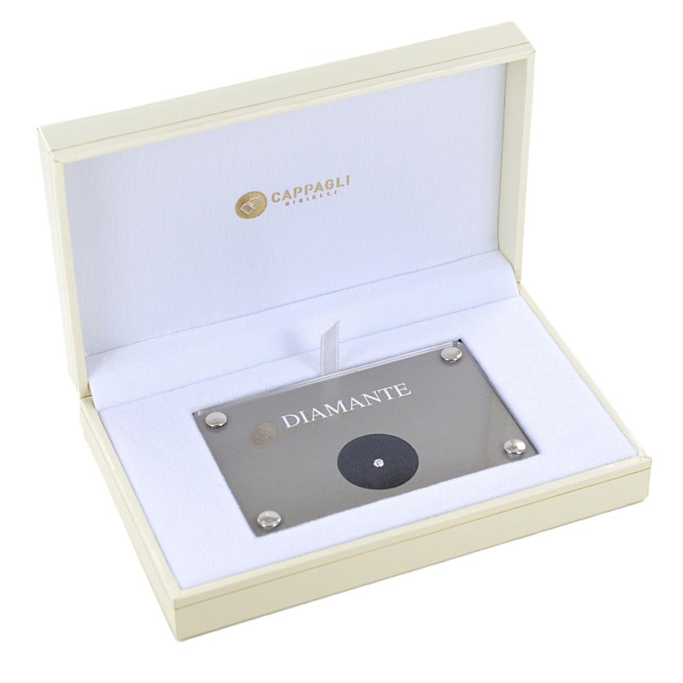 Diamante in Blister per carati 0.21 colore F purezza VVS
