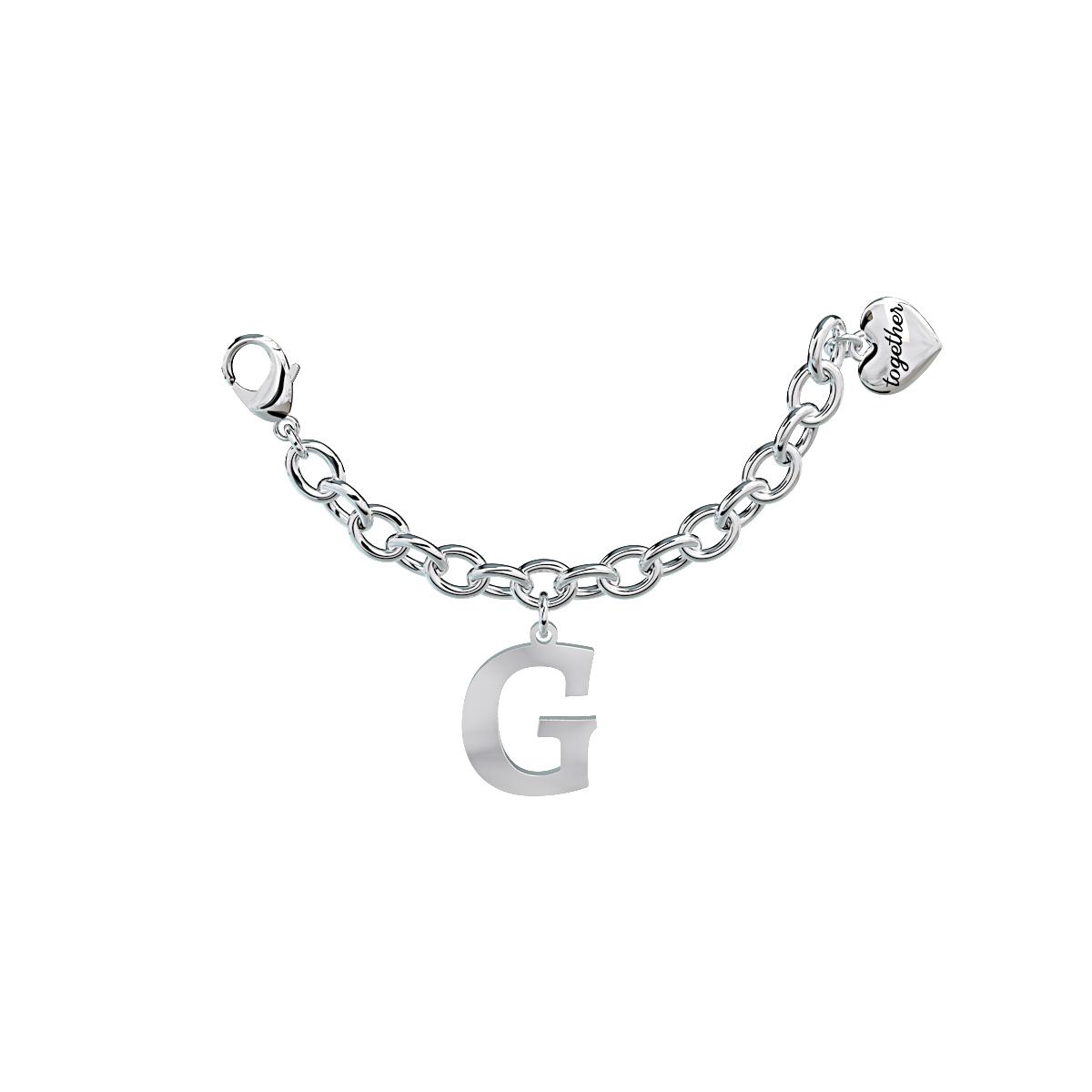 Elemento Single Bracciale 2jewels donna Together componibile lettera G 131060G