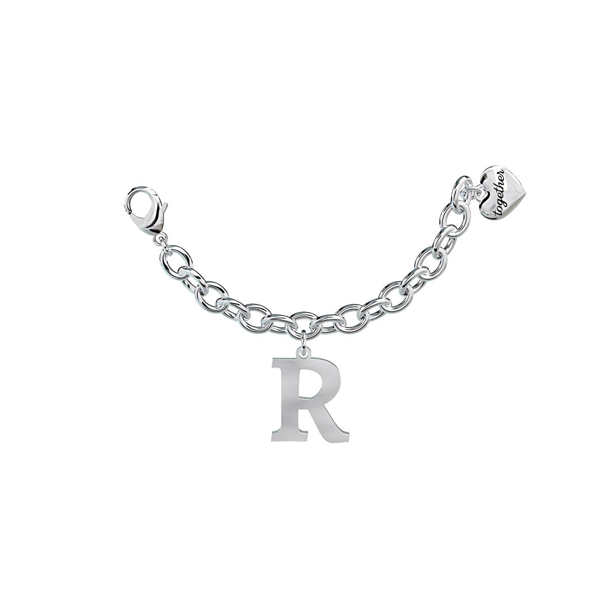 Elemento Single Bracciale 2jewels donna Together componibile lettera R 131060R