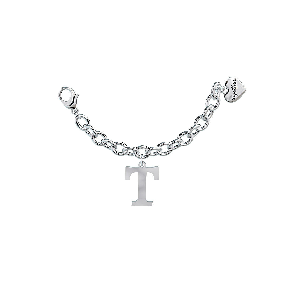 Elemento Single Bracciale 2jewels donna Together componibile lettera T 131060T