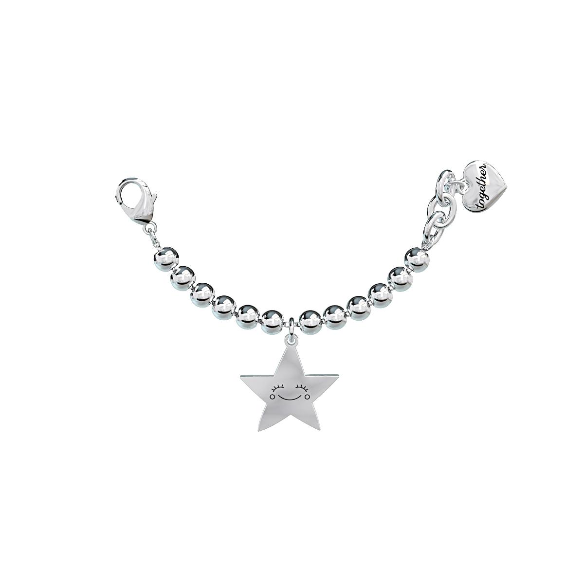 Elemento Single Bracciale 2jewels donna Together componibile Stella 131075