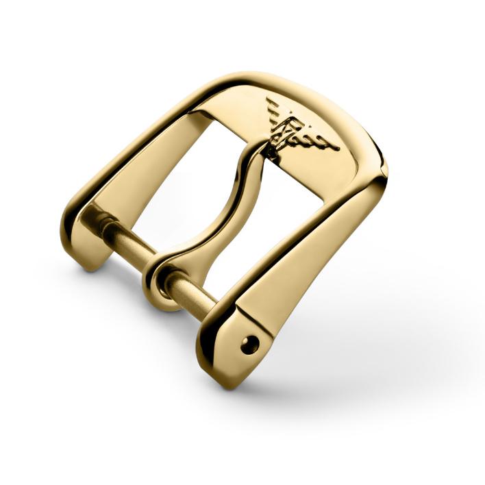 Fibbia per cinturino Longines colore Oro Giallo misura 16 mm