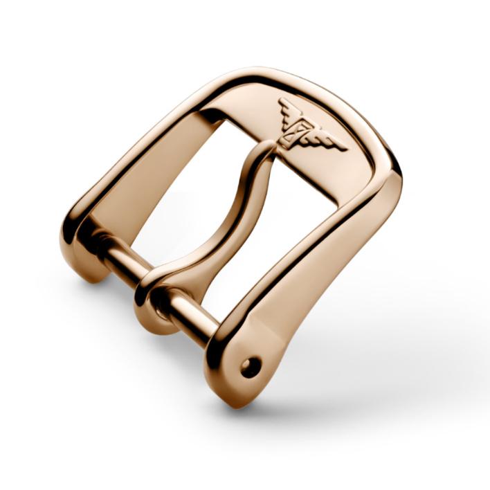 Fibbia per cinturino Longines colore Rosa misura 14 mm