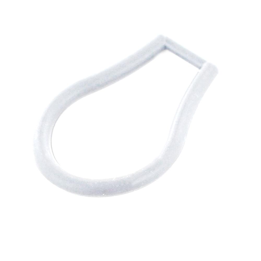 Gancetto di ricambio Solotuo - attacco per portaocchiali Solotuo bianco