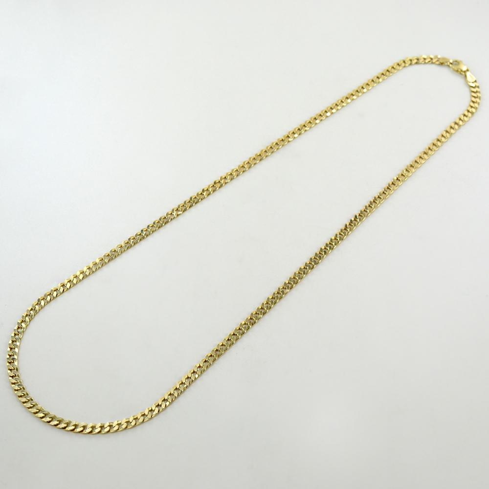 Catena da Uomo Groumette in oro giallo 18 kt - 60 cm