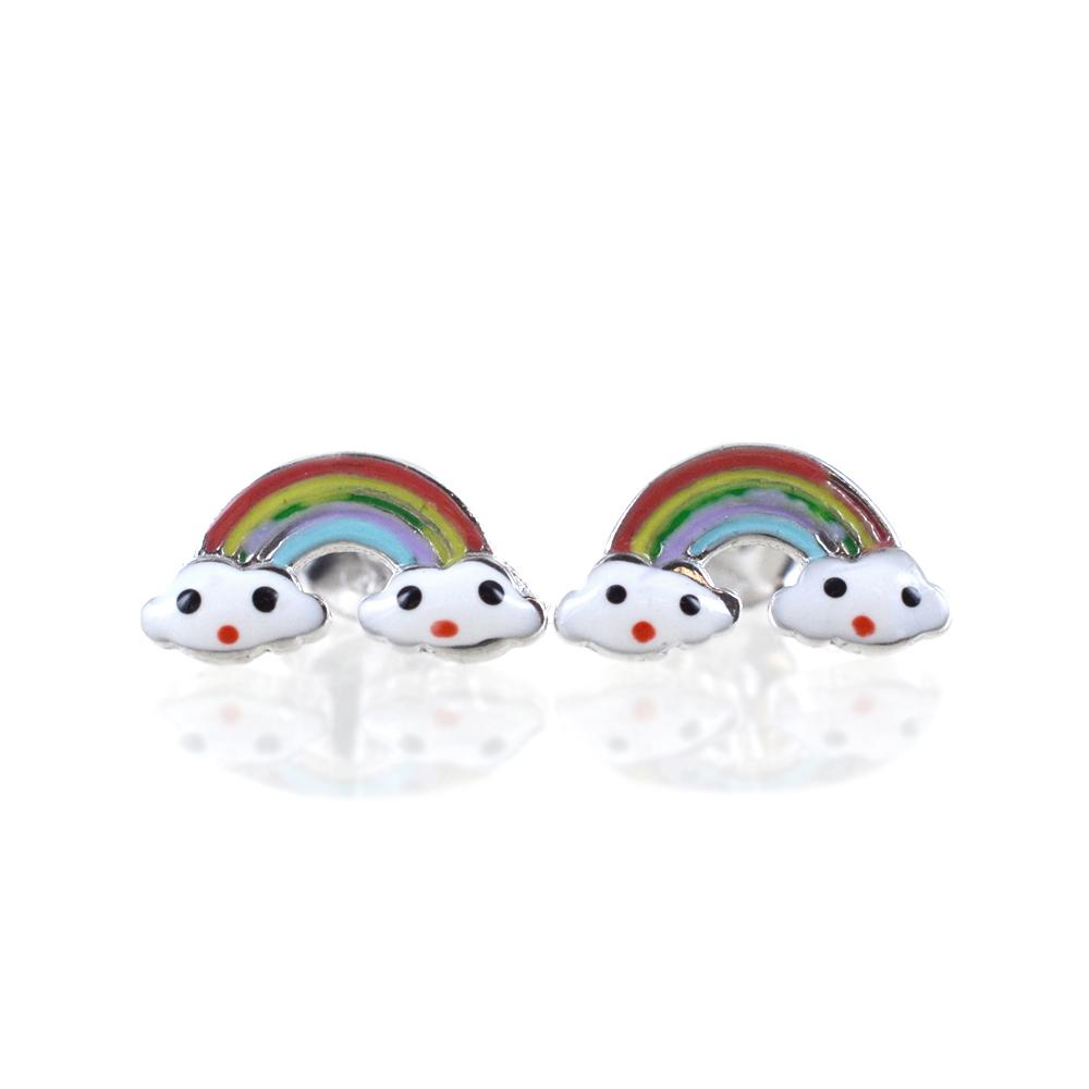 Orecchini con Arcobaleno - orecchini Rainbow