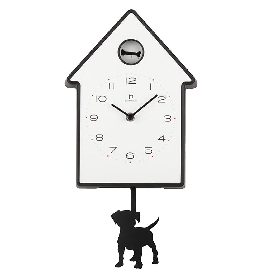 Orologio a pendolo da bambino con cane