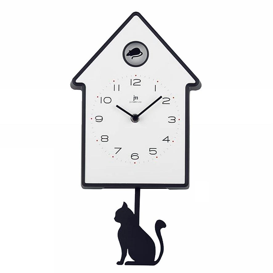 Orologio a pendolo da bambino con gatto