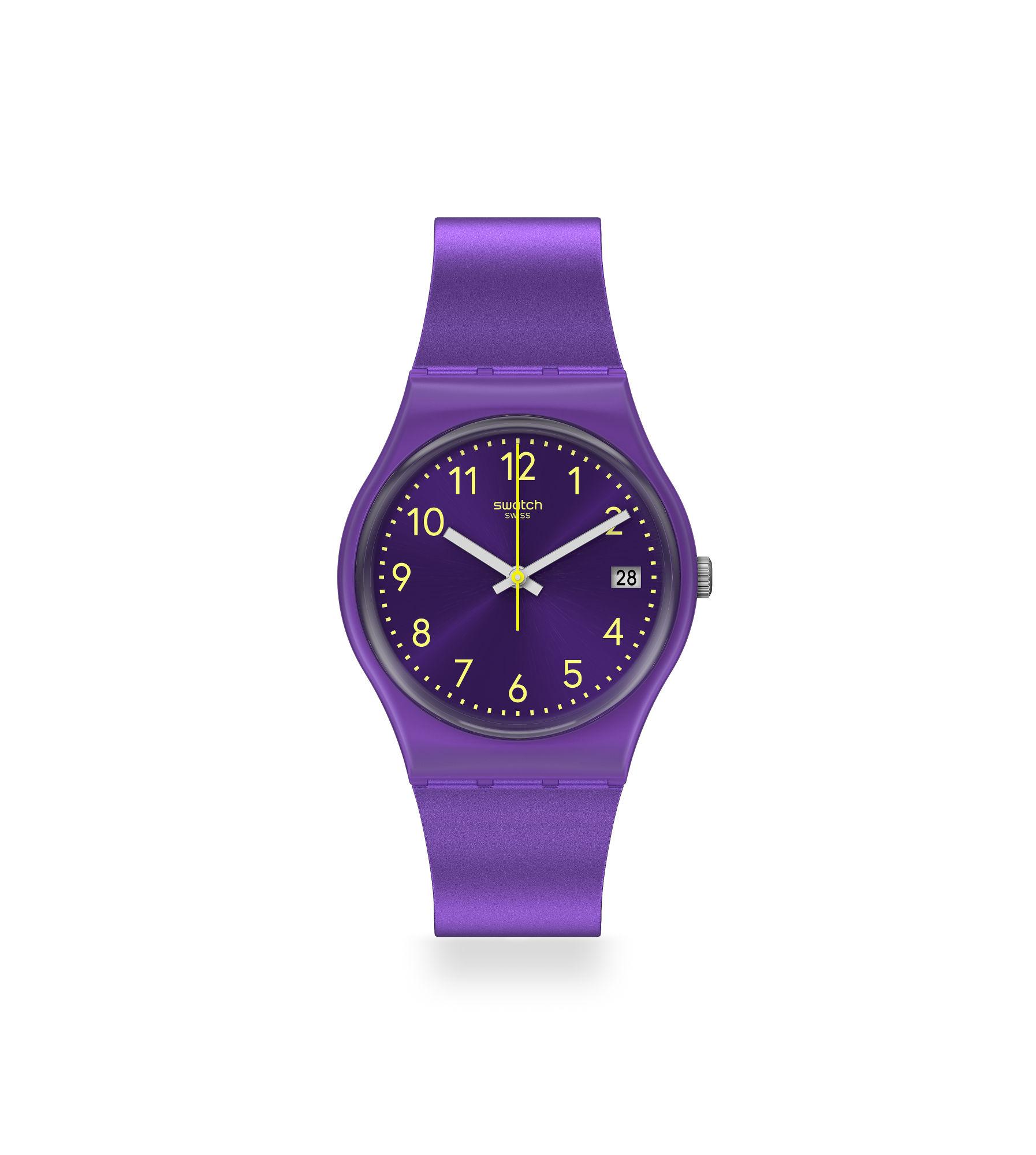 Orologio da Donna Swatch PURPLAZING GV402