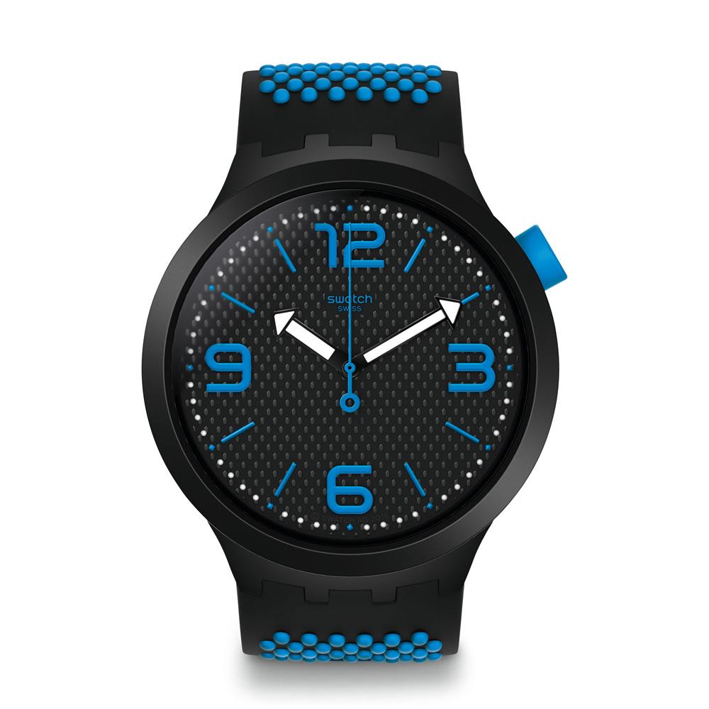 Orologio da Uomo Swatch BBBlue Big Bold SO27B101