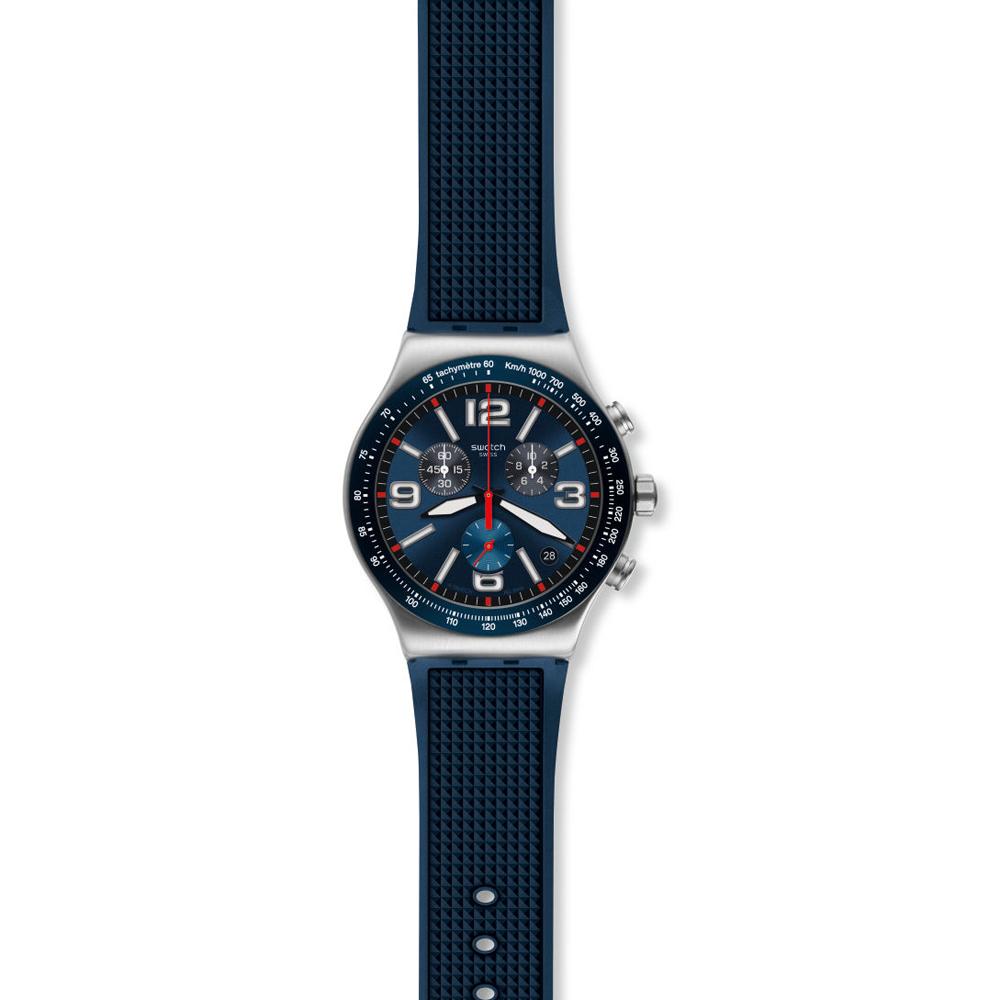 Orologio da Uomo Swatch Blue Grid YVS454